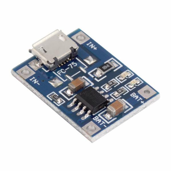 Зарядное устройство для Li-ion, TP4056