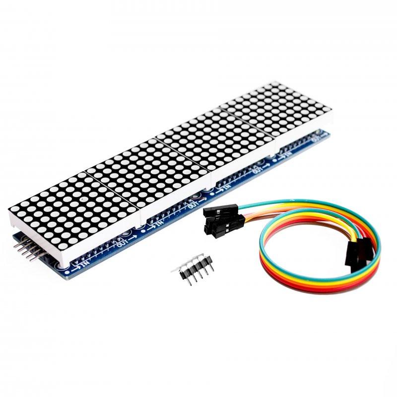 Матричный модуль 32x8, MAX7219