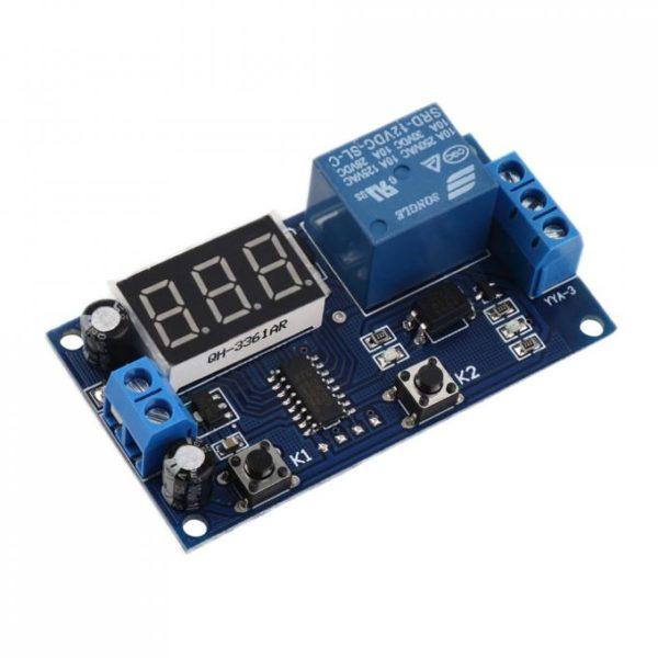 Модуль реле времени с цифровым дисплеем