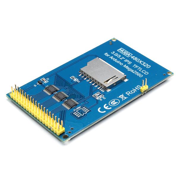 """3.2"""" TFT LCD цветной дисплей для Arduino Mega 2560"""