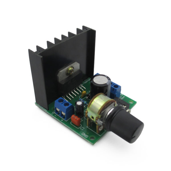 Усилитель TDA7297 2x15W, 12V