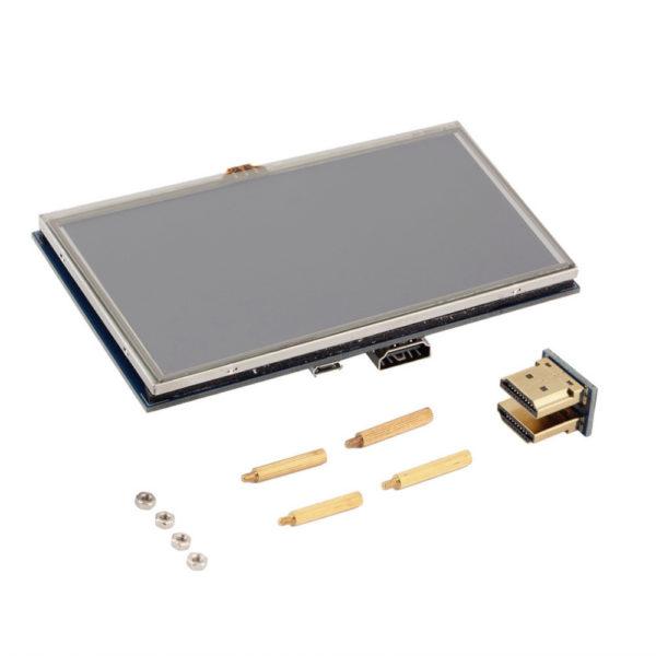 Сенсорный дисплей TFT 5 дюймов (800x480) для Raspberry Pi