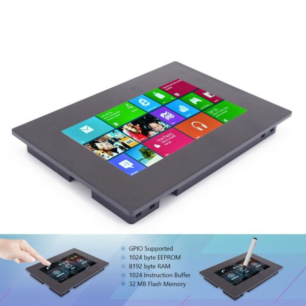 """Nextion 7"""" сенсорный TFT дисплей с ARM процессором в корпусе (800х480)"""