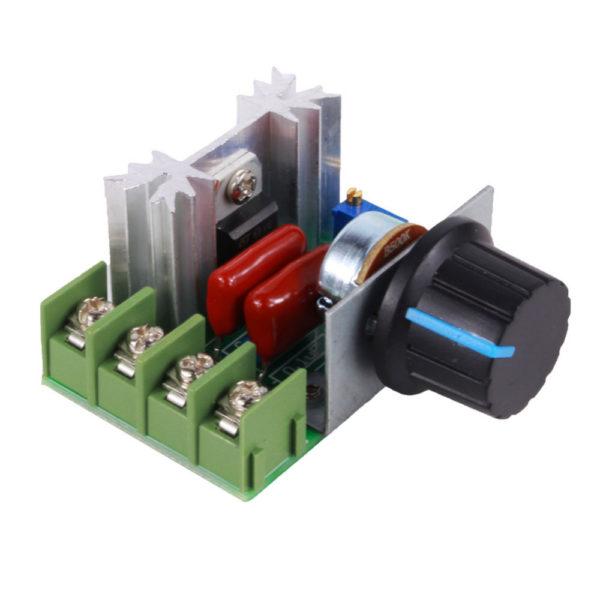 ШИМ регулятор переменного тока 50-220V, 25A, 2000W