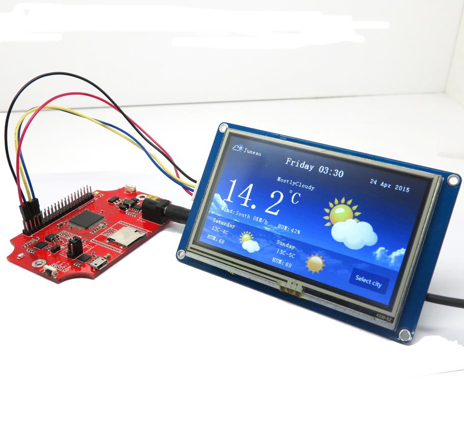 Новинка! Nextion - сенсорный TFT дисплей с ARM процессором
