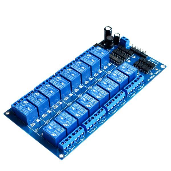 Модуль релейный 16-канальный