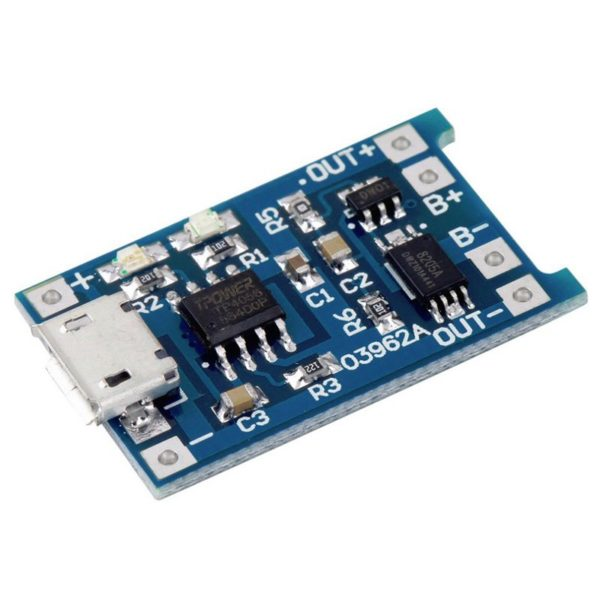 Зарядное устройство для Li-ion с защитой, TP4056