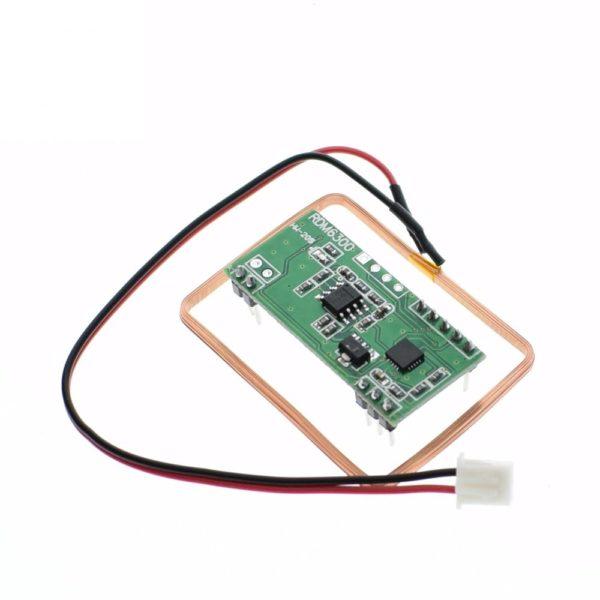 Бесконтактный считыватель RFID карт RDM6300 (125 кГц EM4100) с интерфейсом UART (TTL)