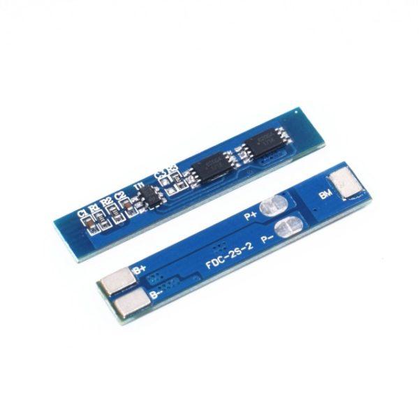 Контроллер заряда разряда BMS 2S Li-Ion 18650 8.4V 5A