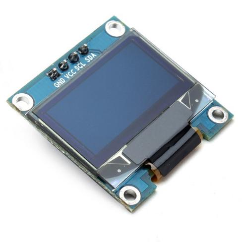 """OLED дисплей 0.96"""" 128x64, I2C синий"""