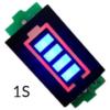 Индикатор уровня заряда Li-ion аккумулятора 1S 3.7V