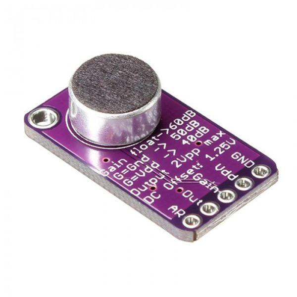 Микрофонный усилитель MAX9814 с АРУ