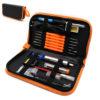 Набор инструментов для пайки 9 в 1 (паяльник 60Вт с керам. нагревателем)
