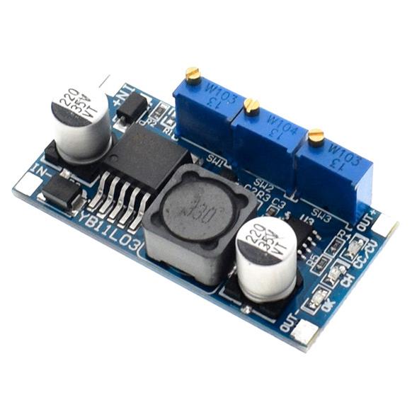 DC-DC понижающий преобразователь с рег. CC/CV/LED, LM2596