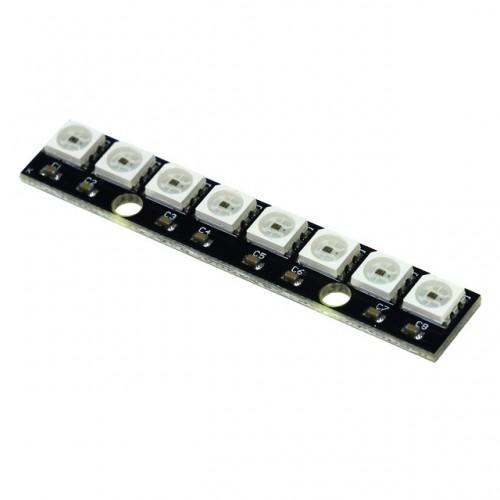 Светодиодный RGB модуль WS2812 (8 светодиодов)