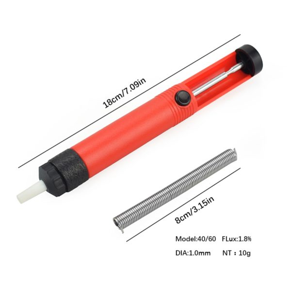 Набор инструментов для пайки 26 в 1 (паяльник 60Вт с керам. нагревателем)