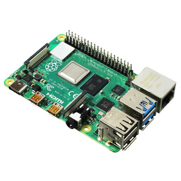 Микрокомпьютер Raspberry Pi 4 Model B (2 ГБ памяти)