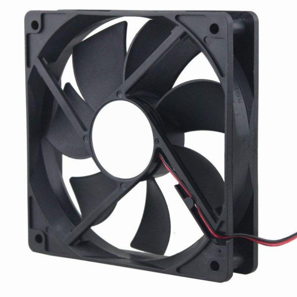 Вентилятор осевой постоянного тока