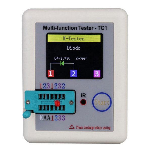 Мультифункциональный тестер радио компонентов LCR-TC1
